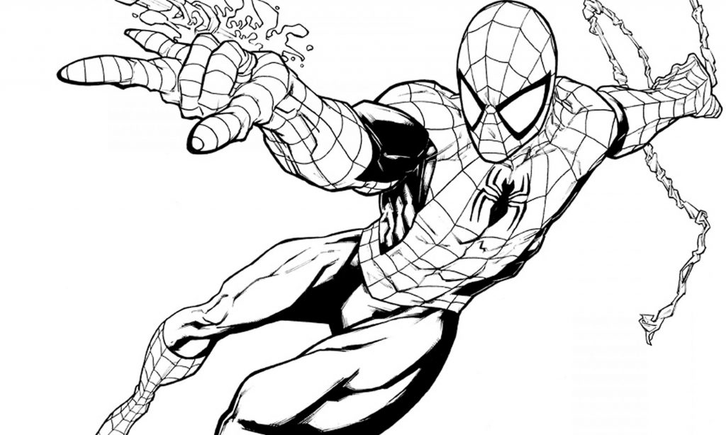 Dibujos De Spiderman Para Colorear E Imprimir Despiderman
