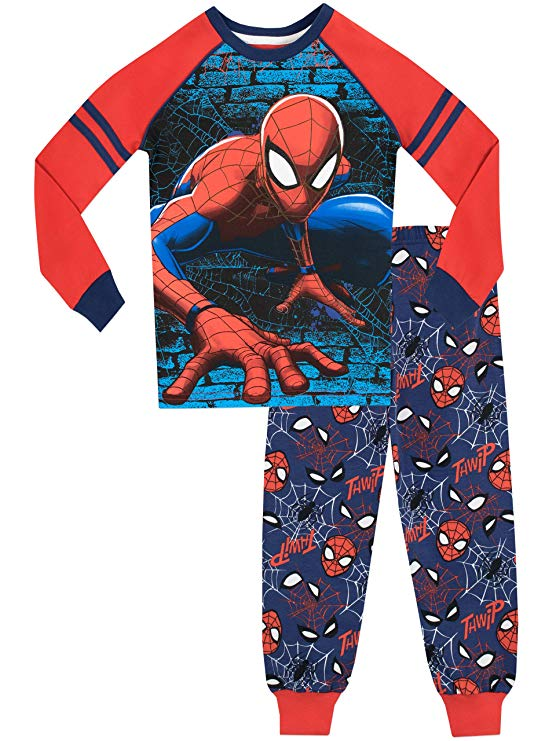 Pijama Spiderman de Manga larga